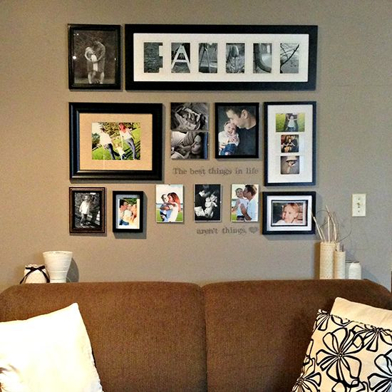 Wall Decor Gallery : Best photo gallery walls ideas on