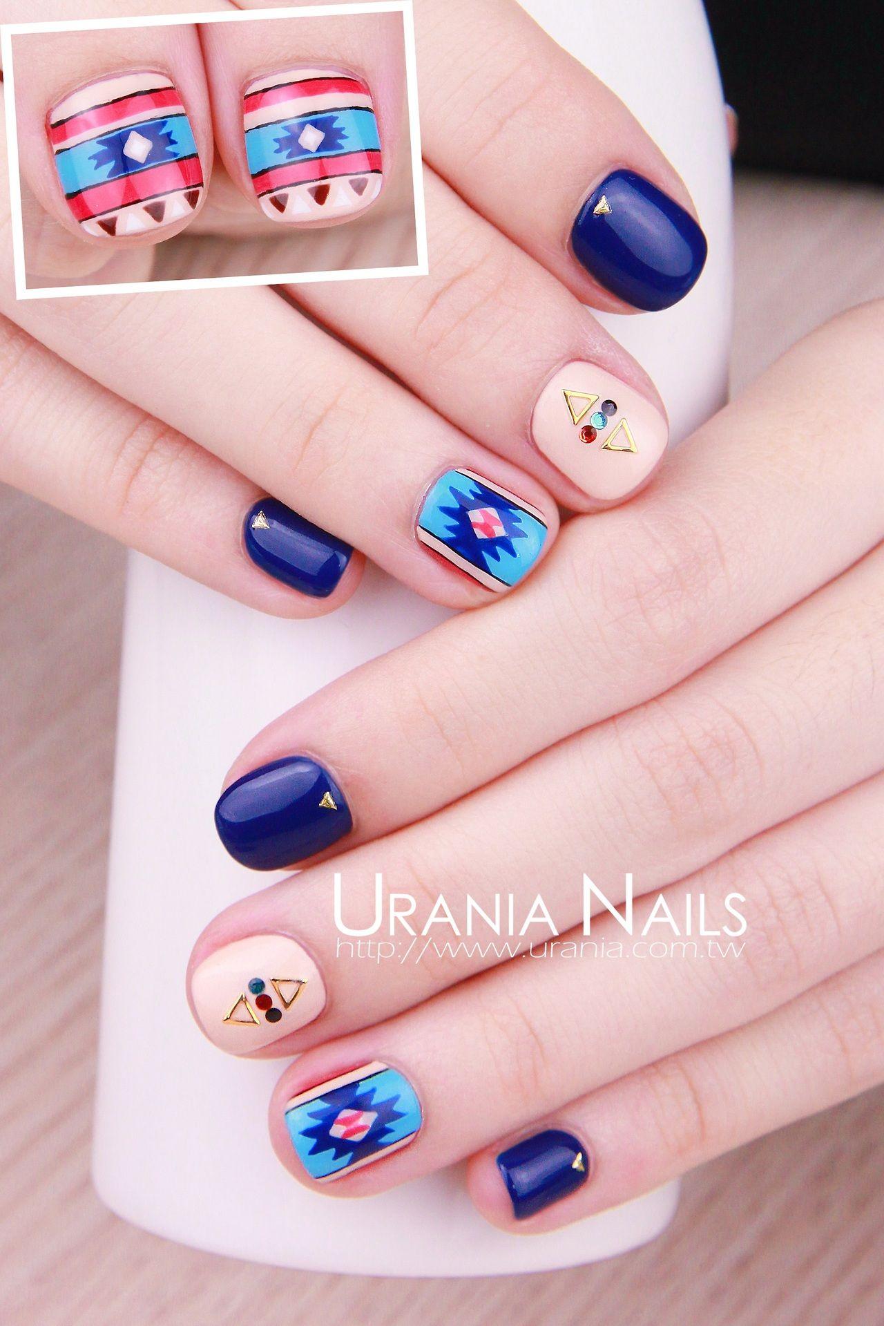 Uraniaasia nail nails nailart asian artists nails pinterest
