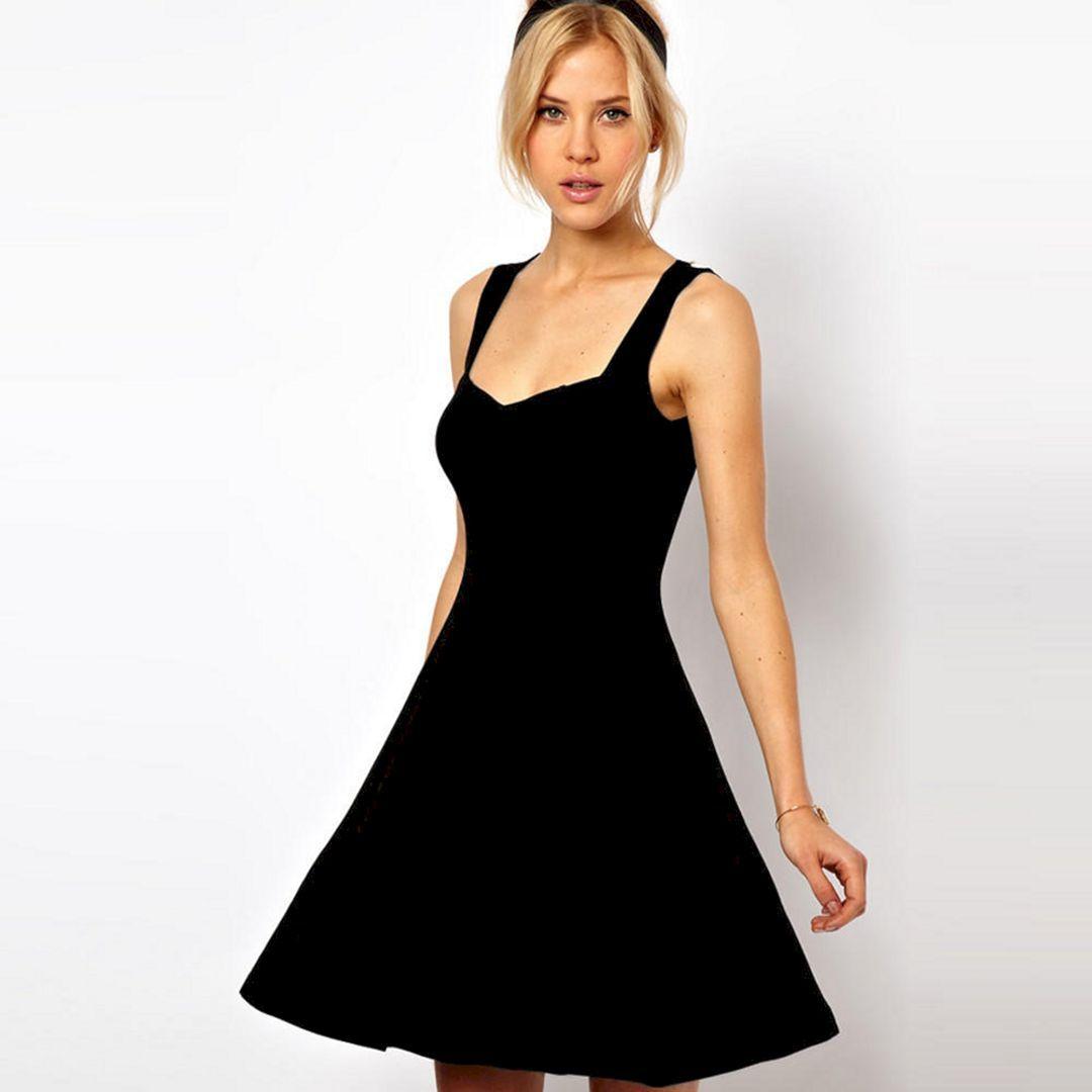 15 Gorgeous Sweetheart Neckline Summer Dresses For Bride Looks More Pretty Short Mini Dress Sleeveless Skater Dress Skater Dress [ 1080 x 1080 Pixel ]