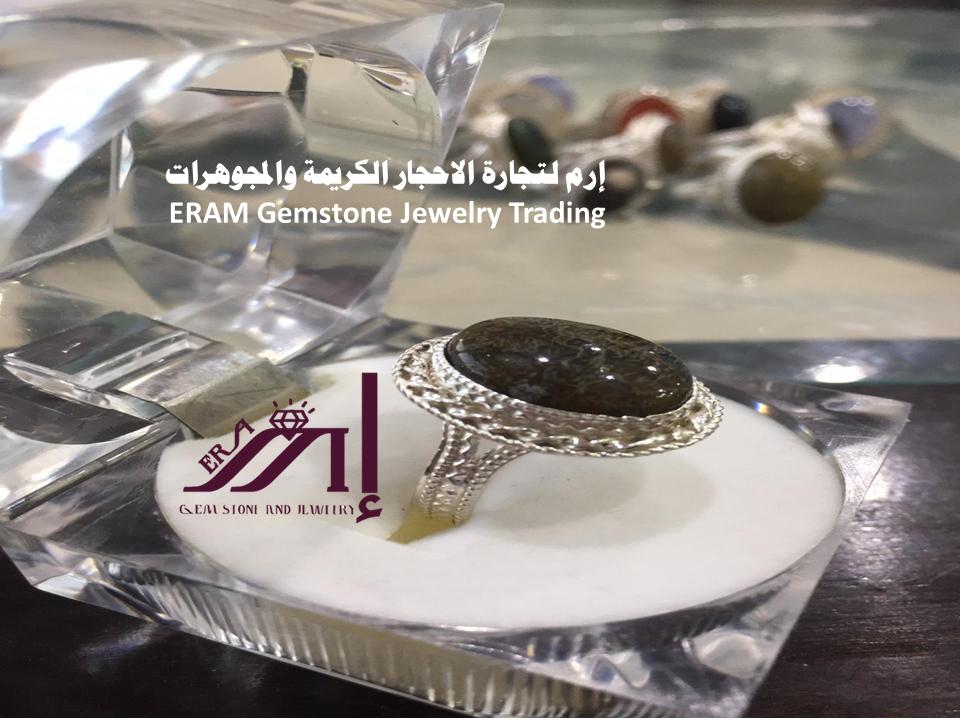 خاتم عقيق نسائي داودي جلد الحية طبيعي 100 Agate Gemstone Jewelry Gemstones Jewelry