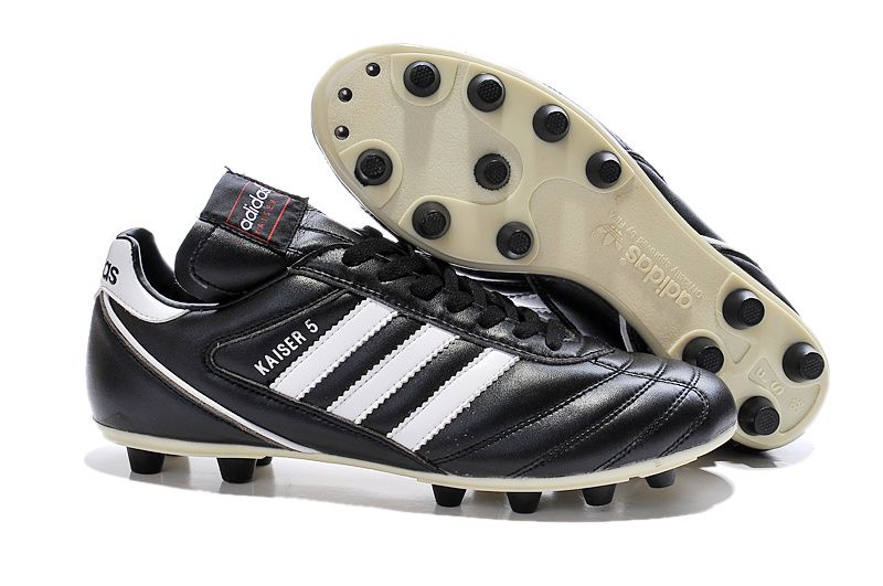 2015 Adidas Kaiser 5 Liga FG Football Boots black white
