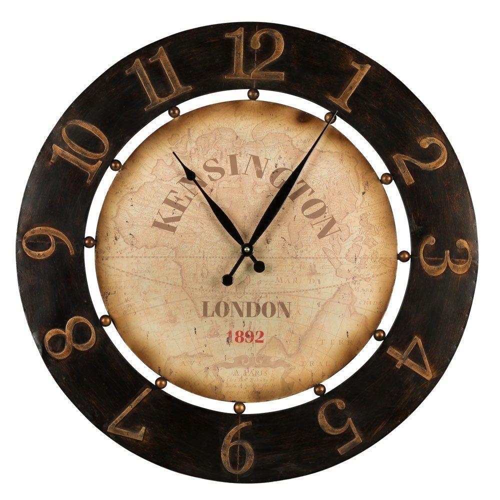 Cooper Classics Atish Clock 40596 Wall Clock Gold Wall Clock Clock Wall Decor