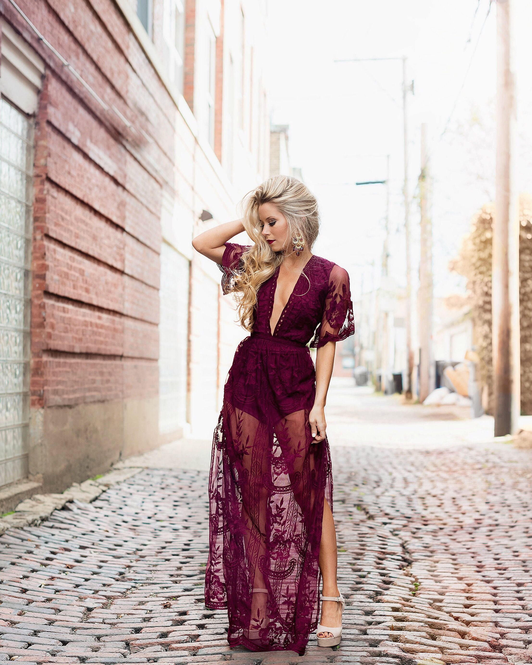 959f203198d2 Merlot Lace Fall Maxi - OliviaRink.com    OBSESSED WITH THIS BEAUT