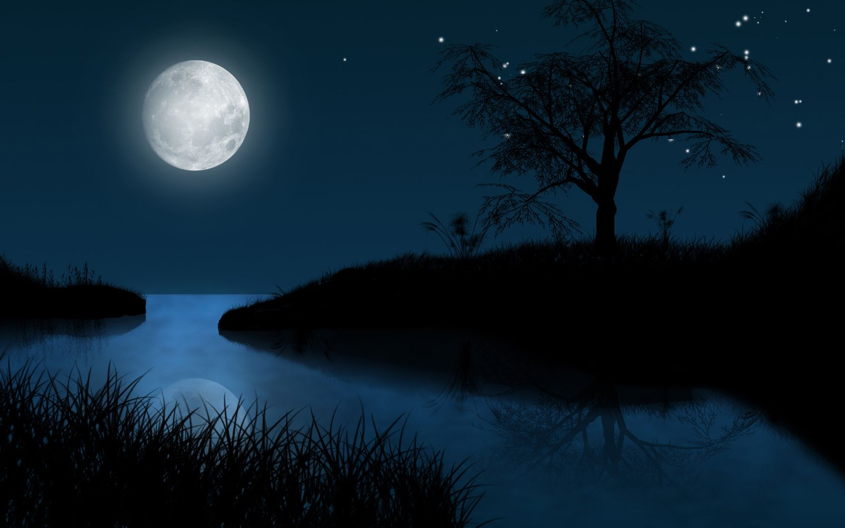 Обои ночь, Пейзаж. Пейзажи foto 6