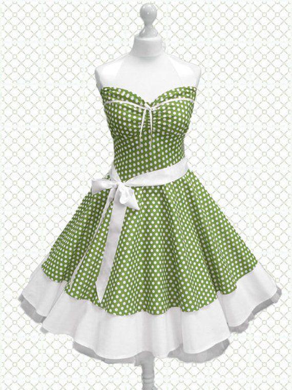 Petticoat dress Rockabilly dress