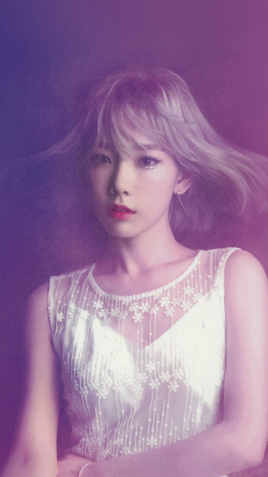 Taeyeon Snsd Kpop Girl Purple Pink #iPhone #6 #plus # ...