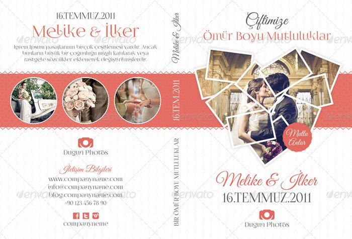 wedding dvd templates