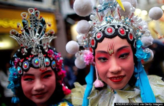 chinese new year london 2014 - Provided by Huffington Post