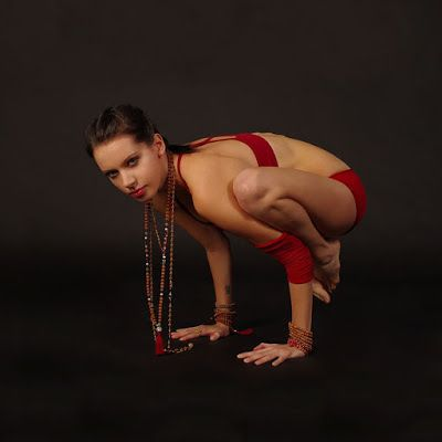 svarga yoga how to safely perform crow and crane pose