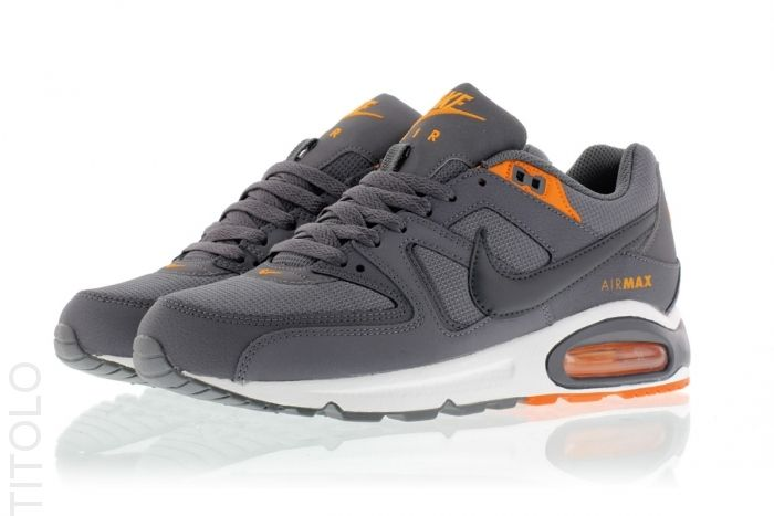 Air Max Commande Gris Orange