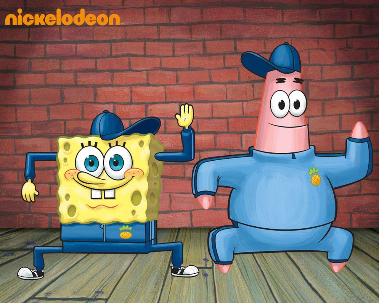 Spongebob & Patrick spongebobsquarepants Wallpaper