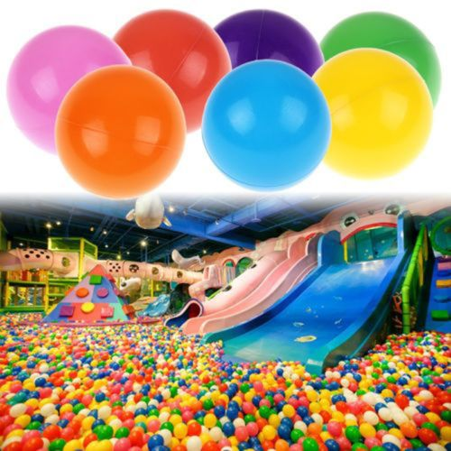 80cm Inflatable Swimming Pool Ball Pit For Baby Kids Outdoor Indoor Party Blue