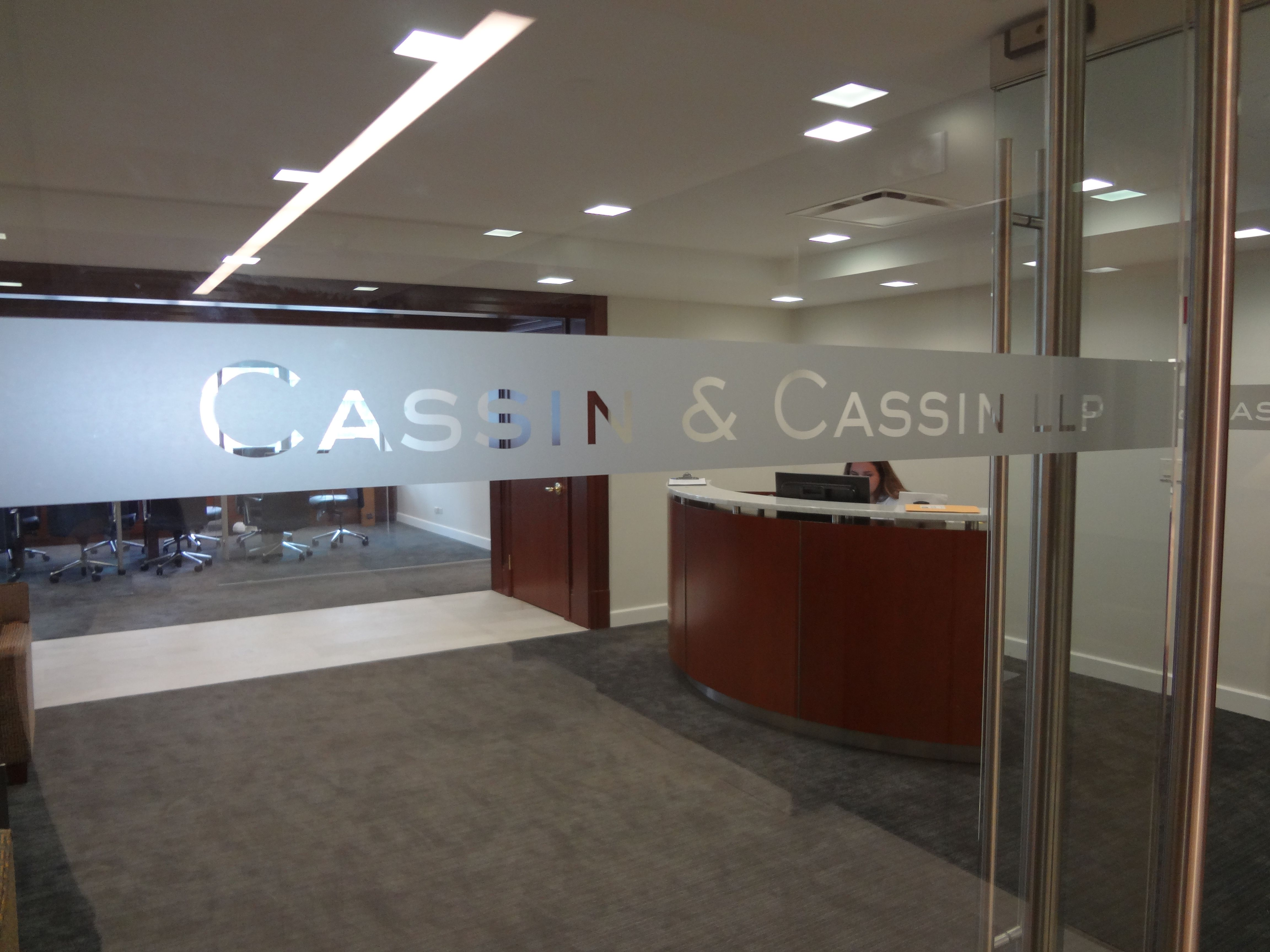 We Specialize In Custom Frosted Vinyl Signage New York NY Visit Our Website Below To Contact Us For A Free Consultation