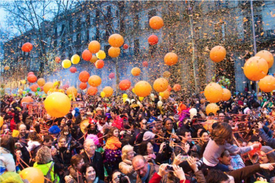 Carnaval de Barcelona - La Tarongada