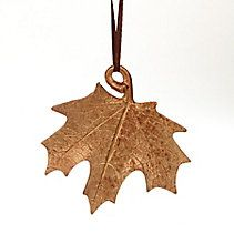 CANVAS Gold Resin Copper Leaf Ornament