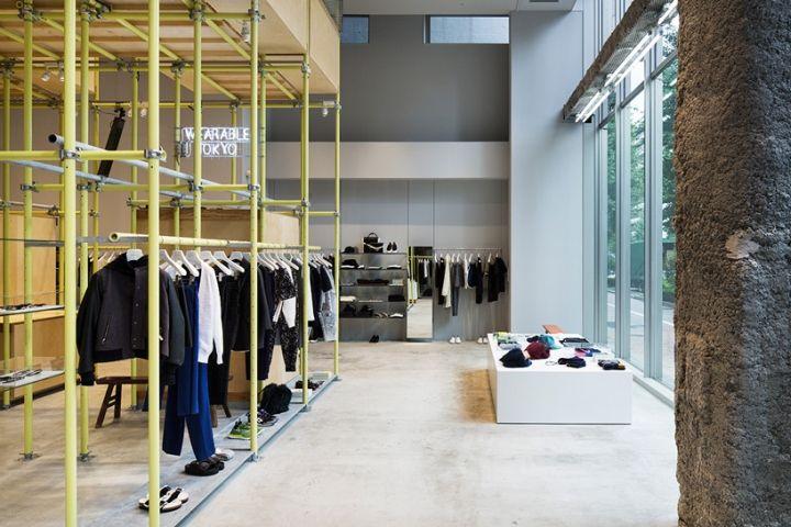 En Route store by Schemata Architects, Ginza – Japan » Retail Design Blog