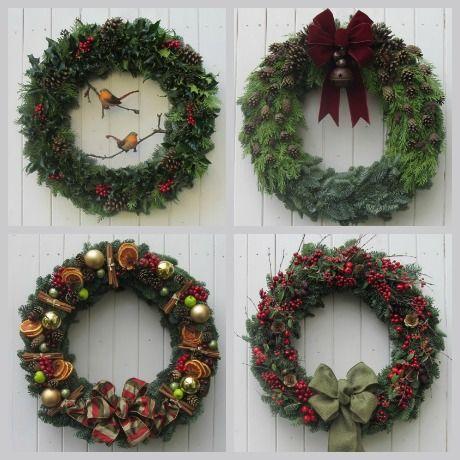 Magical Christmas Wreaths Magical christmas, Wreaths and Garlands - christmas wreath decorations