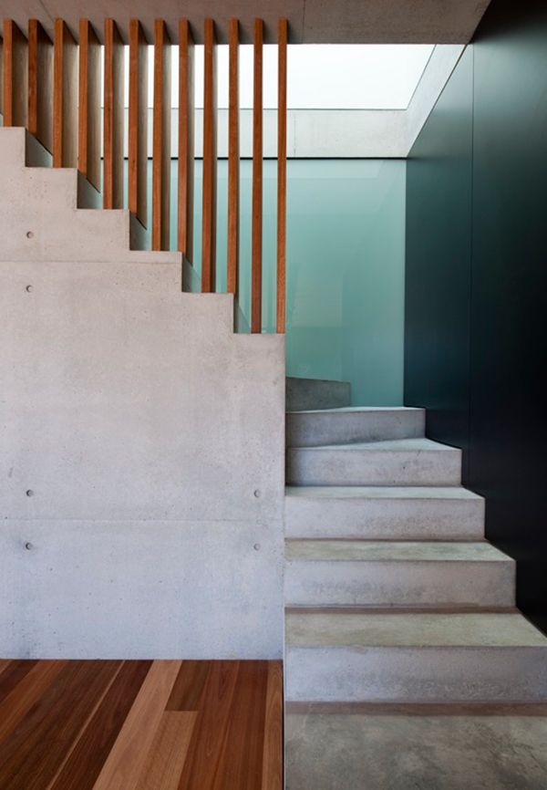 Pin by Fvonstein on staircase | Concrete stairs, Wood ...