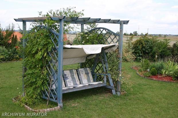 Miejsce Wypoczynku W Ogrodzie Nie Tylko Taras Garden Arch Pergola Garden