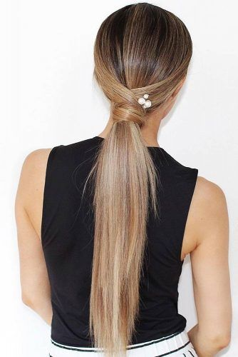 36 Five-Minute Gorgeous and Easy Hairstyles #easyhairstyles