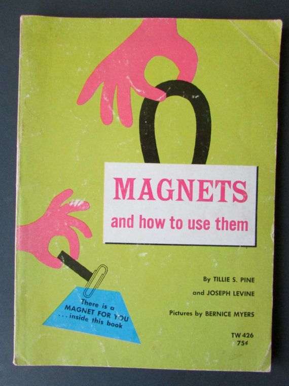 Fun for easy science experiments at home with your tots! This book helps kids discover, through questions and hands-on activities, how magnets work, how they help us, and how everyone uses them.