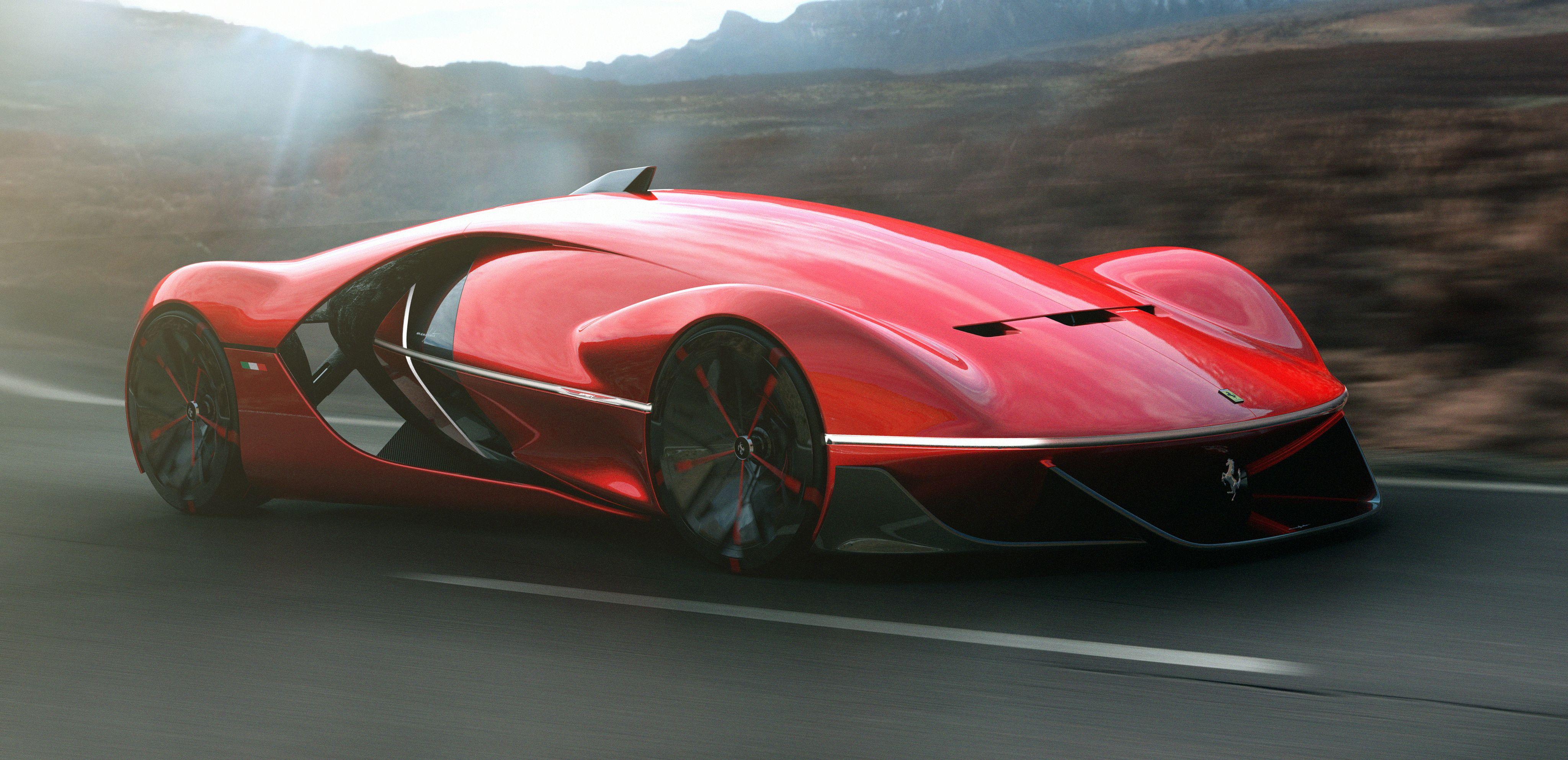 Futur Auto : des tudiants d une cole fran aise dessinent la ferrari du futur concept cars pinterest ~ Gottalentnigeria.com Avis de Voitures