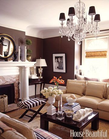 These 50 Designer Living Rooms Are Absolute Goals Brown Living