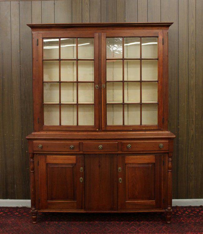 Pa Stepback Cupboard Lot 324 Cupboard Vintage Storage