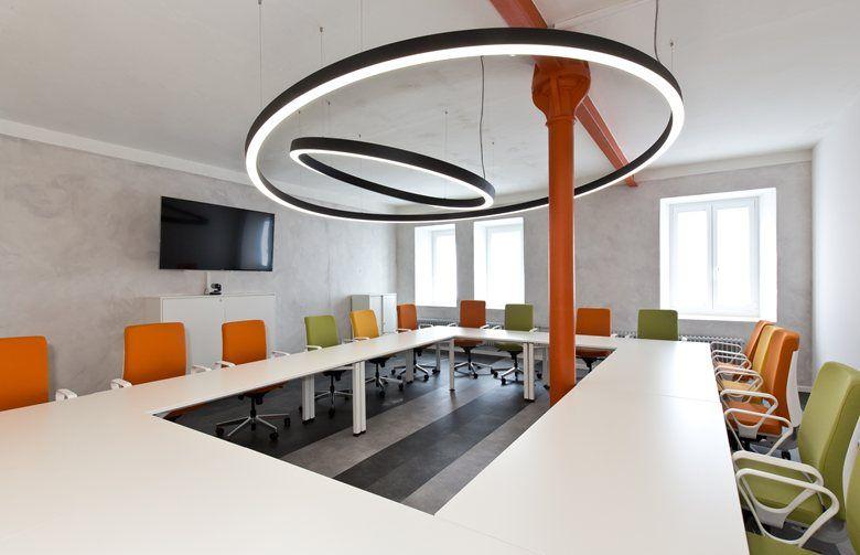 Tradizione Creativa Rainbowbuilding Offices Rosenthal Selb 2015 Frigerio Design Office Renovation Renovations