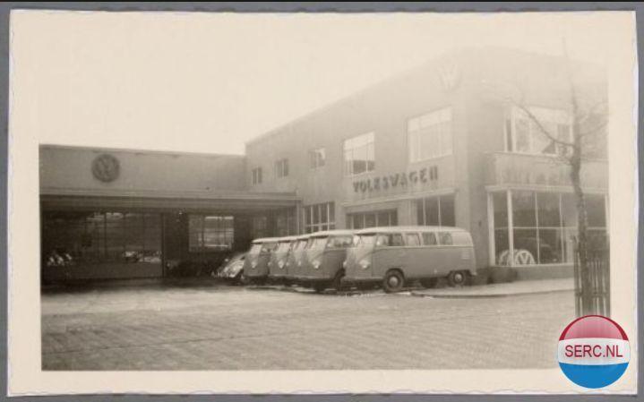 Garage Nefkens Amersfoort : Amersfoort: garage pon aan de arnhemseweg 1956 amersfoort