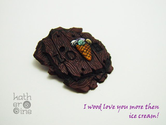 Wood Love you more then ice cream!    Flickr - Photo Sharing!