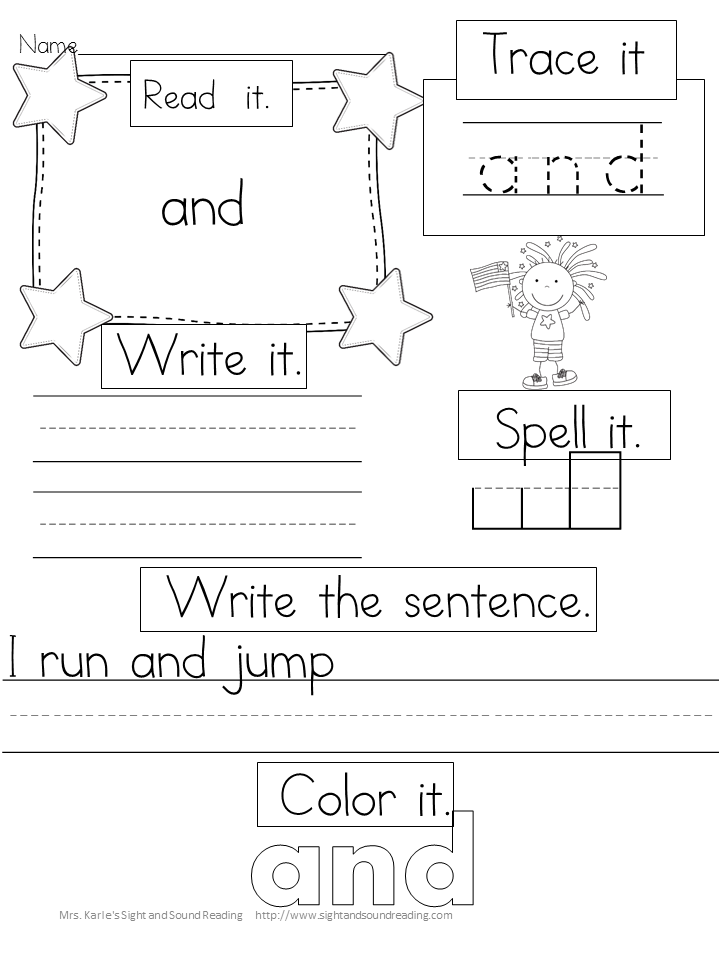 Preschool Sight Words | Pinterest | Kind
