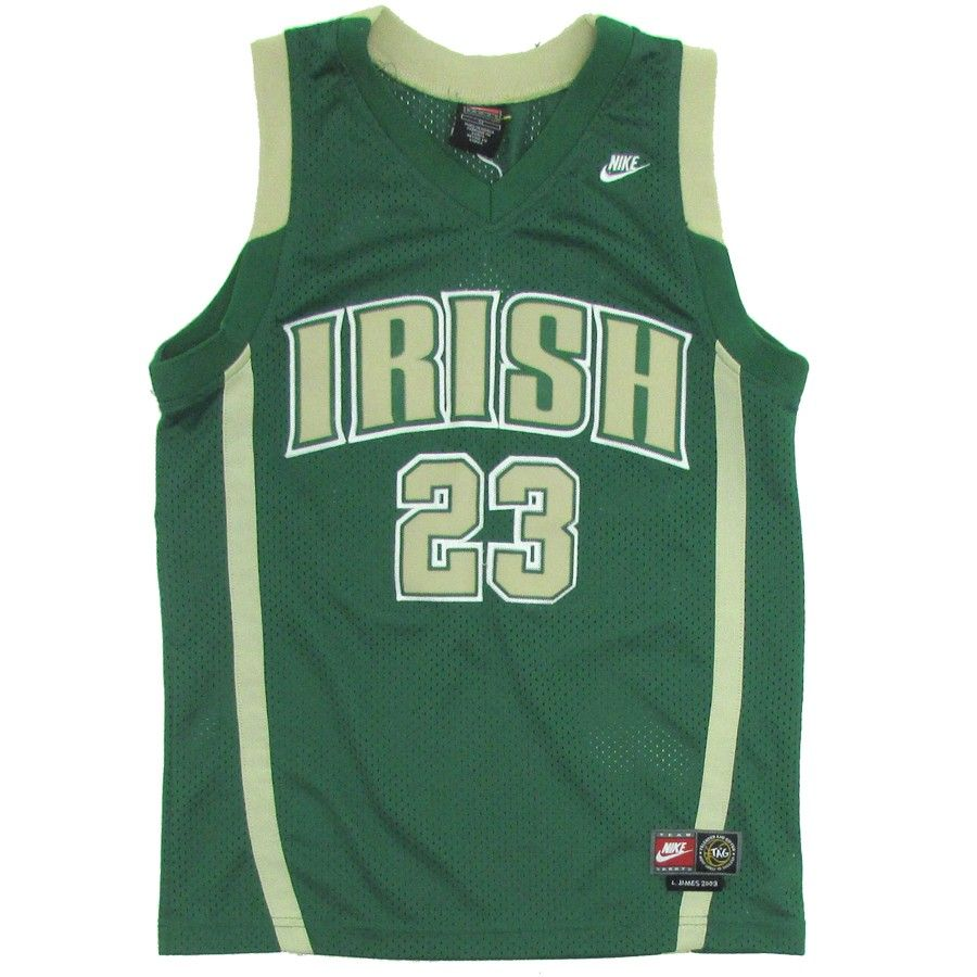 the latest b68f3 2f315 Lebron James #23 St. Vincent–St. Mary High School Jersey ...