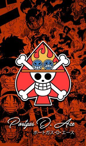 One Piece Wallpapers Mobile : New World , Ace by Fadil089665 on DeviantArt