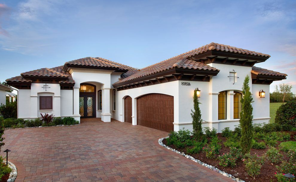 miami mediterranean house colors exterior with clay tile on exterior house paint colors schemes id=13394