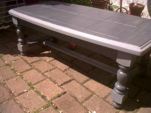 repeindre table basse