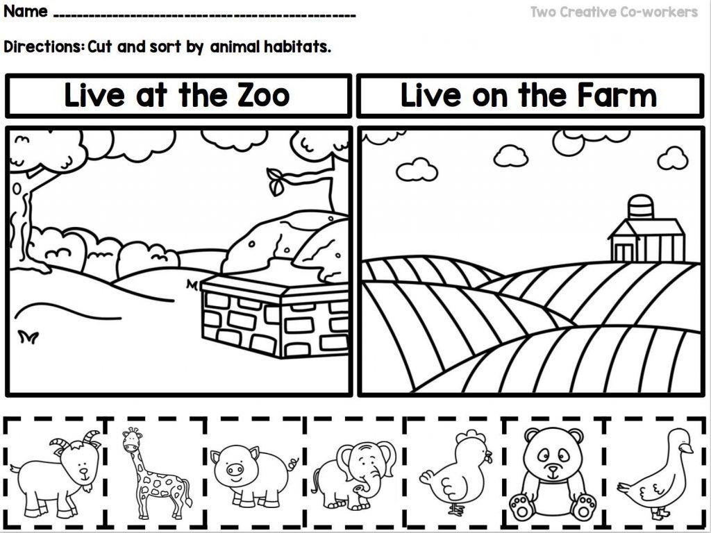 Worksheets Habitat Worksheets image result for mexico and animal habitat worksheet kids kids