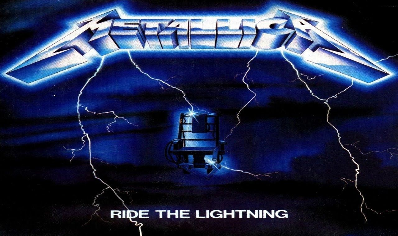 metallica lighting logo wallpaper - photo #13