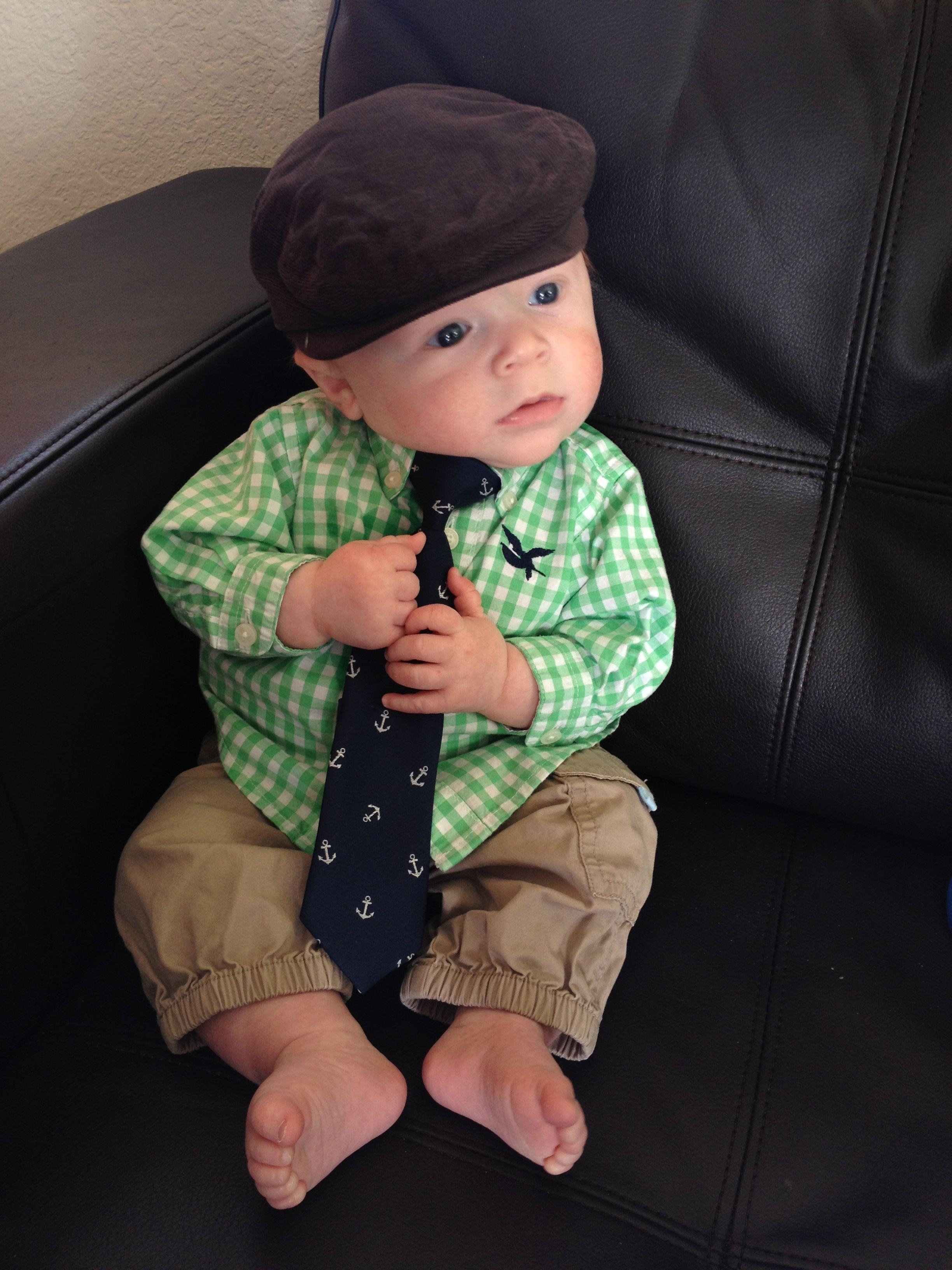 9396653b12cb Irish baby fashion - 4 months old boy