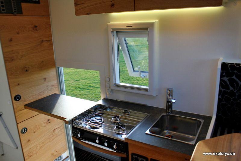 Individuelle Küche mit Gasherd | MAN Kat and Unimog | Pinterest ...