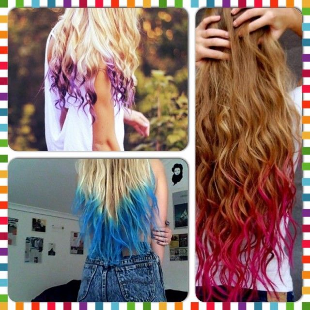 Make Hair Dye With Kool Aid And Hair Conditioner Kool Aid Hair Dyed Hair Diy Hair Dye
