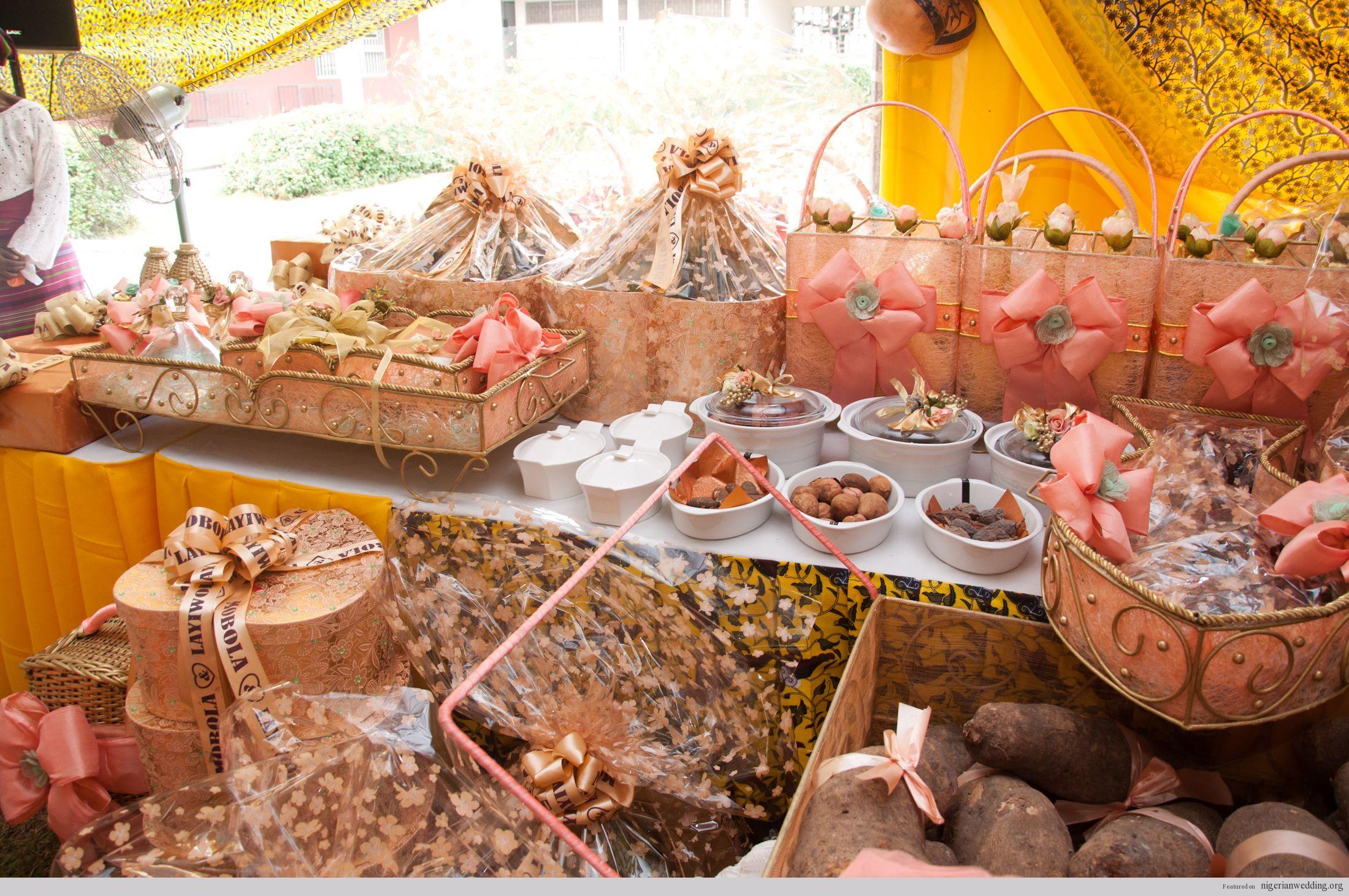 Wedding Engagement Gift: Eru Iyawo- The Yoruba Traditional Engagement Wedding List