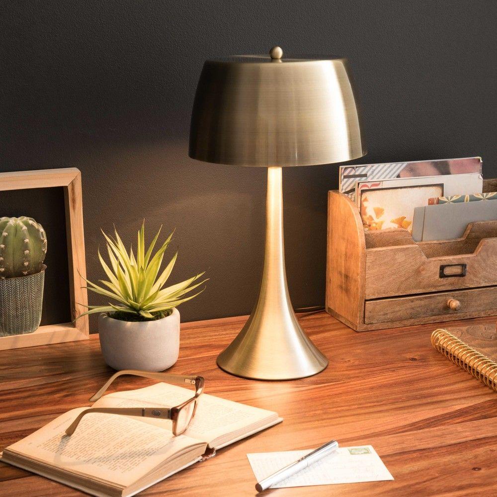 Lampe en métal doré vieilli (avec images) Maison du