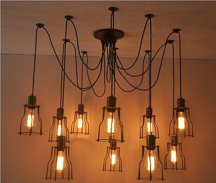 Edison Light Fixtures Warehouse Garage Style Lighting Fixture Vintage Bulb St64