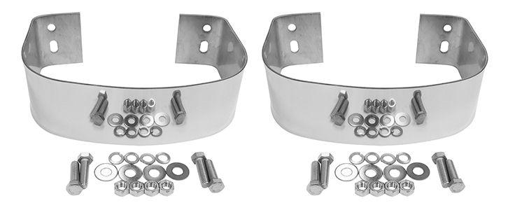 Bumperette Set Stainless Rear Jeep Cj7 Jeep Stainless Steel