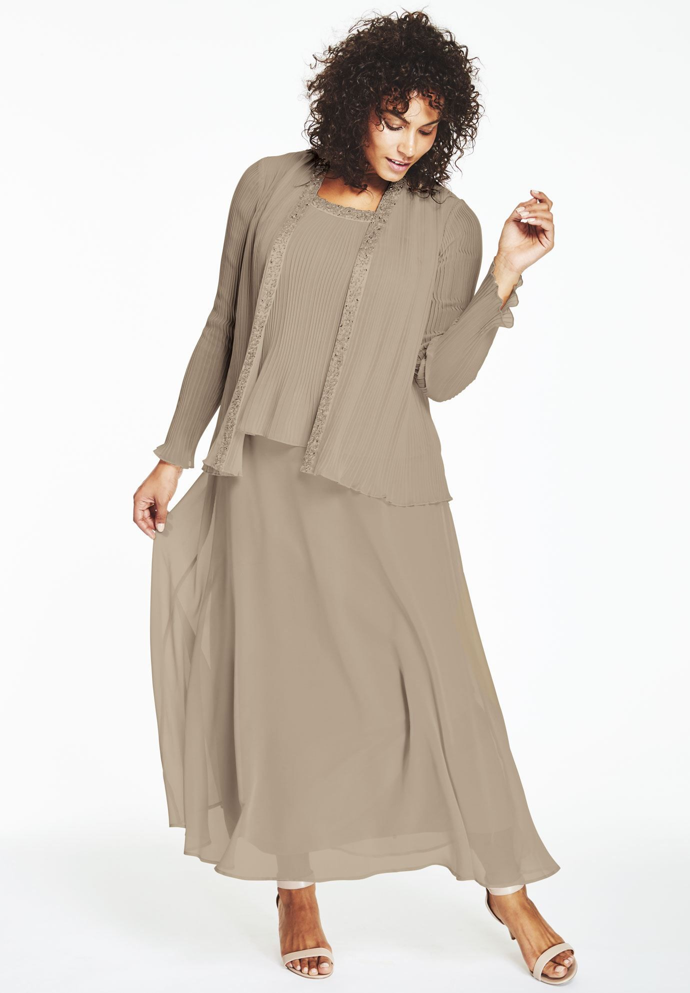 Plus size pleated jacket dress fashion pinterest clothing