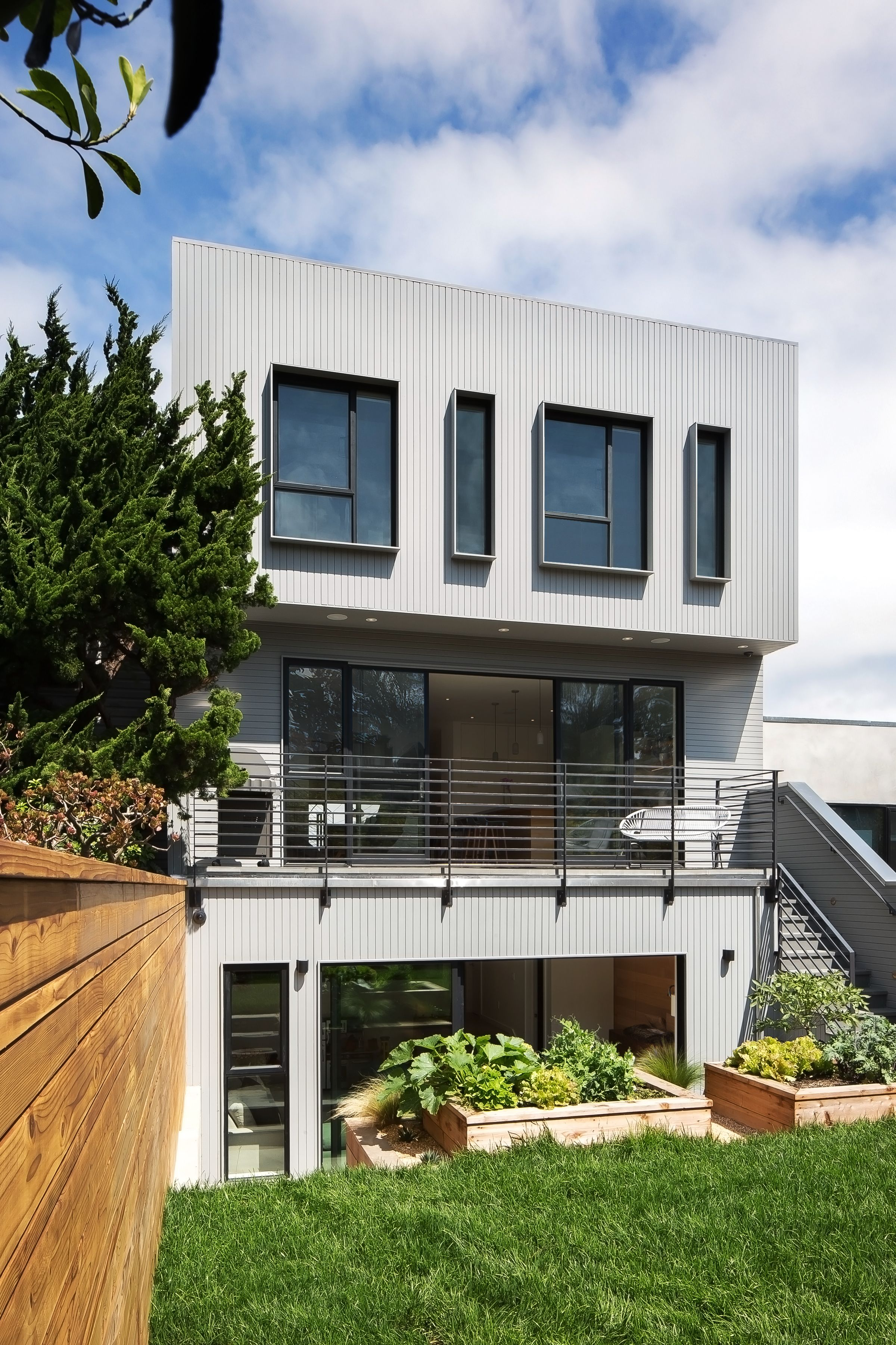 Exterior home design one story  th Street  Noe Valley by patrick perezdesignpad architecture