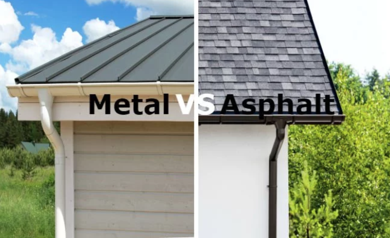 There Are Certain Types Of Roofing That Are Quite Common But Do You Really Know The Difference Between Th Metal Roof Cost Metal Shingle Roof Metal Roof Houses
