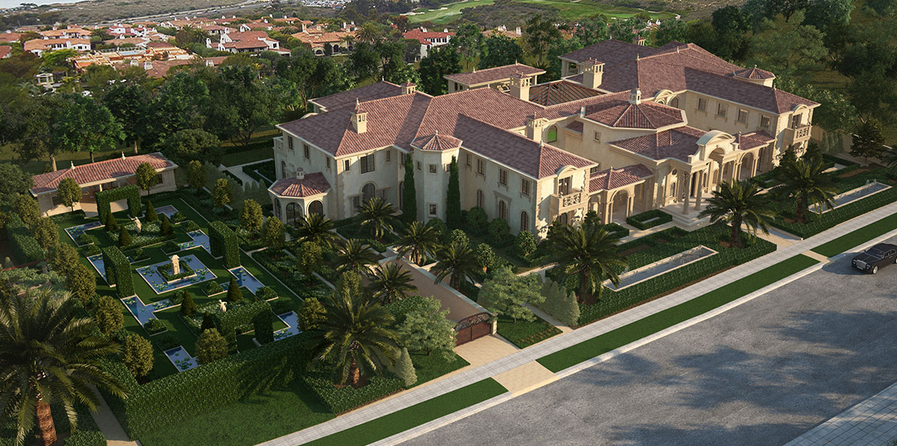 Newport Beach Mega Mansions 55 000 Square Foot Mansion Being Built In Ca