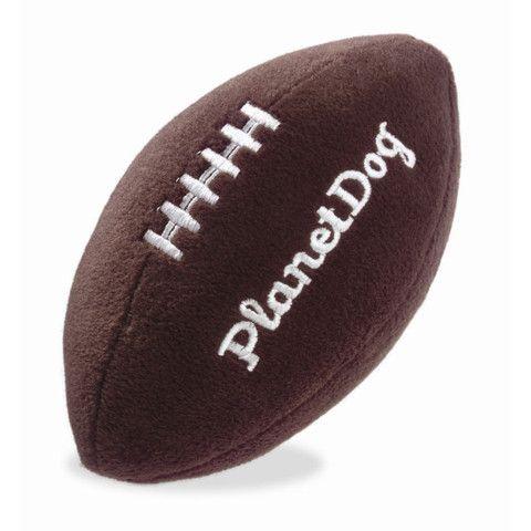 Squeaky Plush Football Ball Dog Toy Puplife Dog Supplies Dog